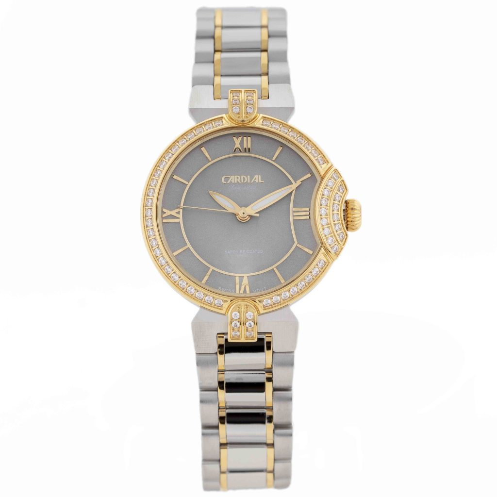 Cardial Gold Ring Women's Watch 9784