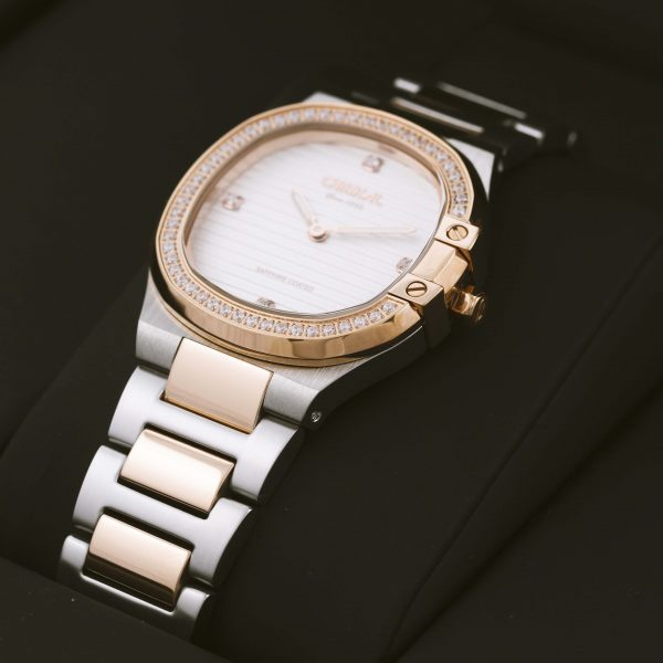 Cardial Rose Gold Women's Watch, White Dial, 9751