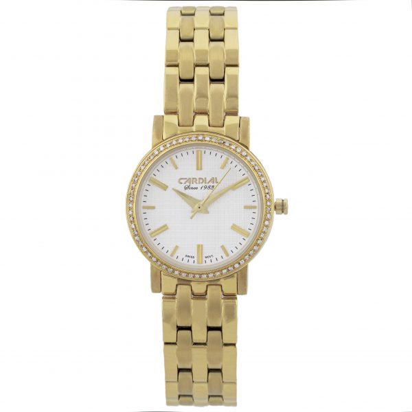 Cardial Gold Diamond Women's Watch 20515