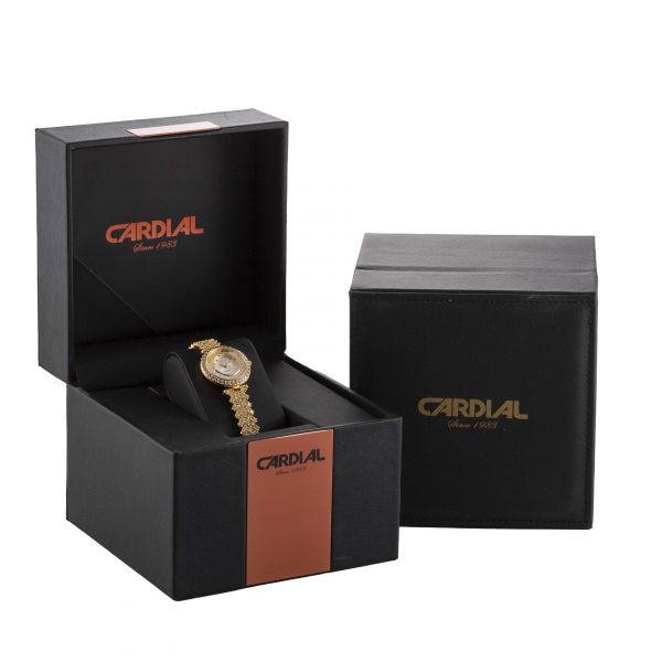 Cardial Gold Women's Watch 9755